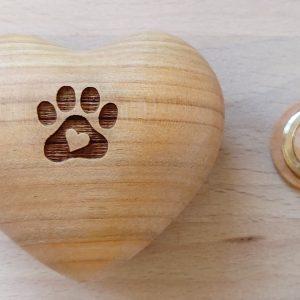 company wood urn - mycompanion.ie